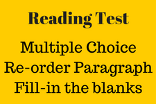pte, reading test, pte reading test, good to excellence