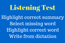 pte, listening test, pte listening test, pte exam, good to excellence