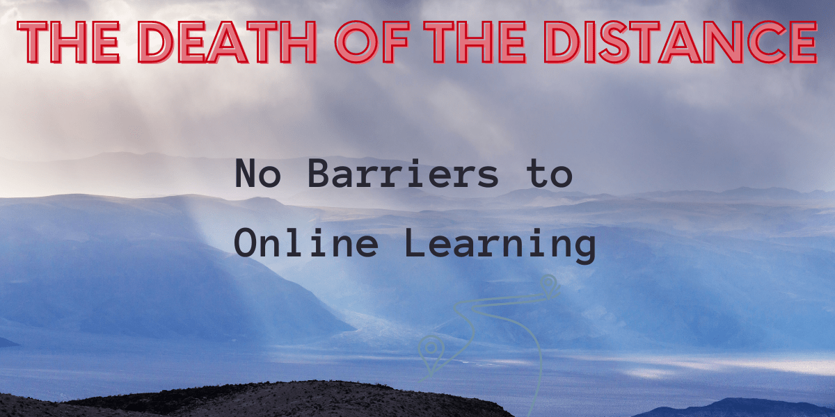 Online Learning: The Death of the distance