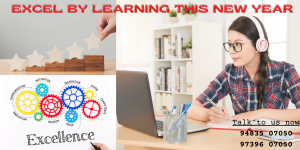 Excel by learning this New Year