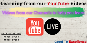 Learn English from our YouTube Channel