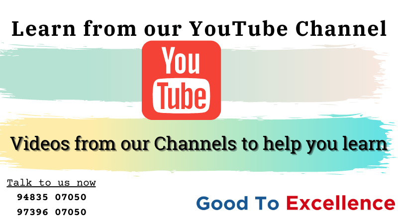 Learn from our YouTube Channel